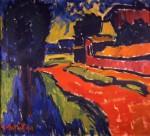 Scorcio di paesaggio, 1910