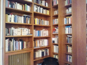 un angolo di libri