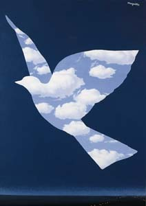 magritte luccellodelcielo