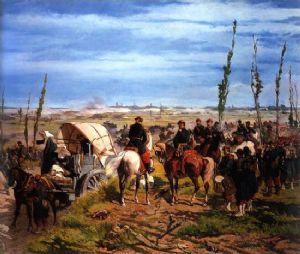 fattori Campo italiano alla battaglia di Magenta