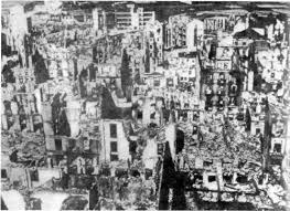 guernica città bombardata