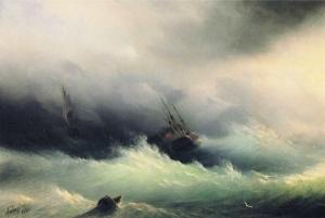 ivan-constantinovich-aivazovsky-ship