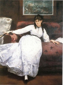 Manet - Ritratto di Berthe Morisot