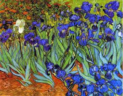 van gogh iris