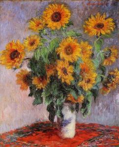 Claude Monet Girasoli