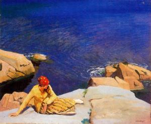Laura Knight Lamoria Cove 1917