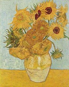 Vincent Van Gogh Vaso di girasoli