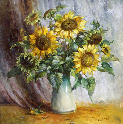 Vjugovey Rimma Nikolayevna Floral art