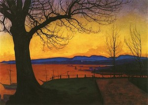harald sohlberg evening
