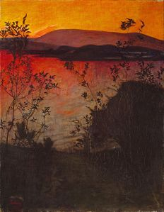 Harald_Sohlberg_-_Evening_Glow