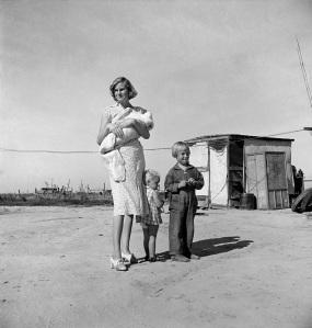 Lange famiglia contea tulare, calif