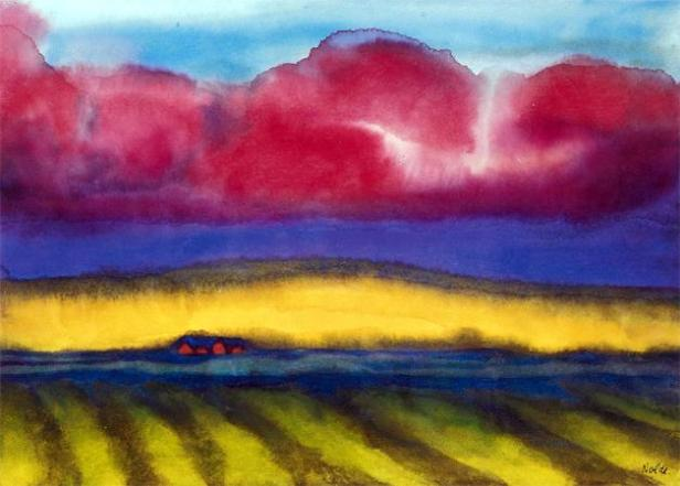 emil-nolde-marsh-with-farm