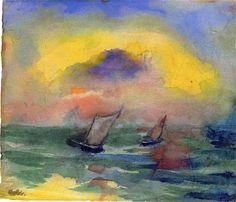 emil-nolde-watercolor-paintings