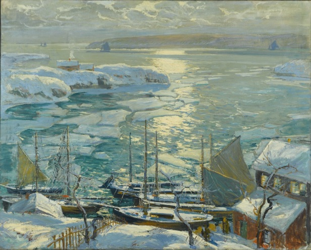 Jonas Lie The_Old_Ships_Draw_to_Home_Again