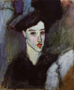 Achmatova by Modigliani