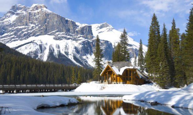Canada montagne rocciose