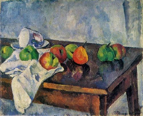 Konchalovskij natura morta con frutta