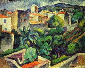Konchalovsky_cassis-the-view-from-the-window-1913