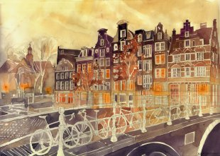 Maja wronski evening_in_amsterdam