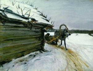 Serov in inverno