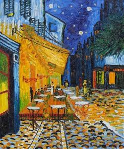 van-gogh-terrazza del caffè la sera