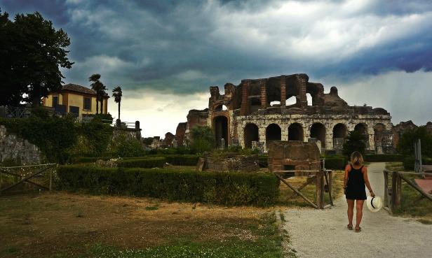 Barile anfiteatro Capua Vetere
