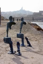 Catalano uomini sul molo