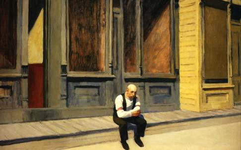 Hopper Edward Sunday