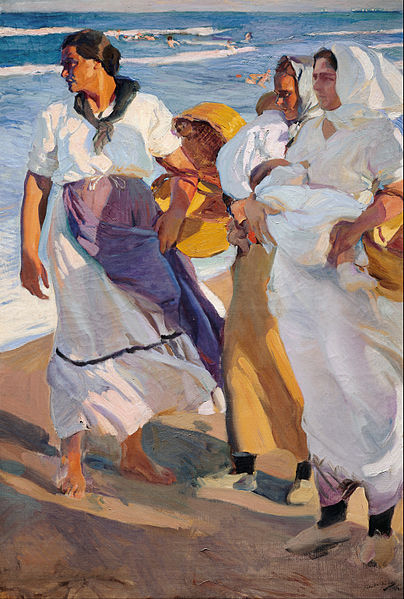 Joaquín_Sorolla_y_Bastida_-_Fisherwomen_from_Valencia_-_Google_Art_Project