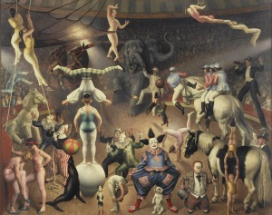 laura-knight the-great-parade-