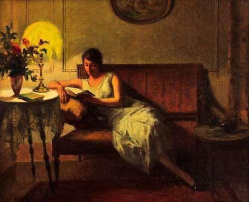 Rieder donna che legge