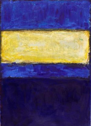 Rothko blu e giallo