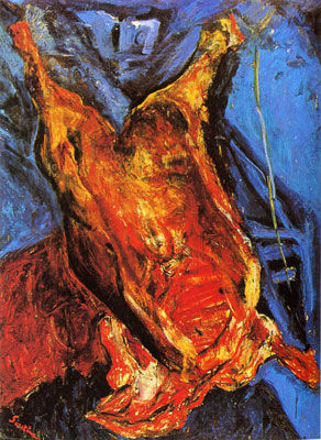soutine_chaim_5 carcasse of beef
