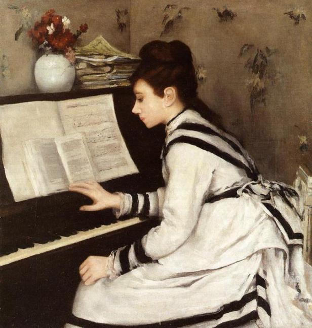 Eva Gonzales secretly-1878