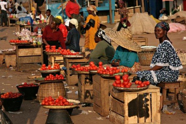 Ghana mercato kumasi