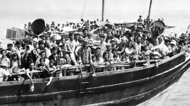 Vietnam boat people