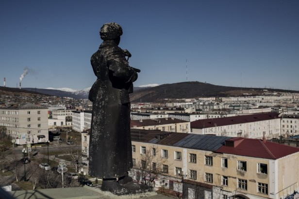 kolyma statua