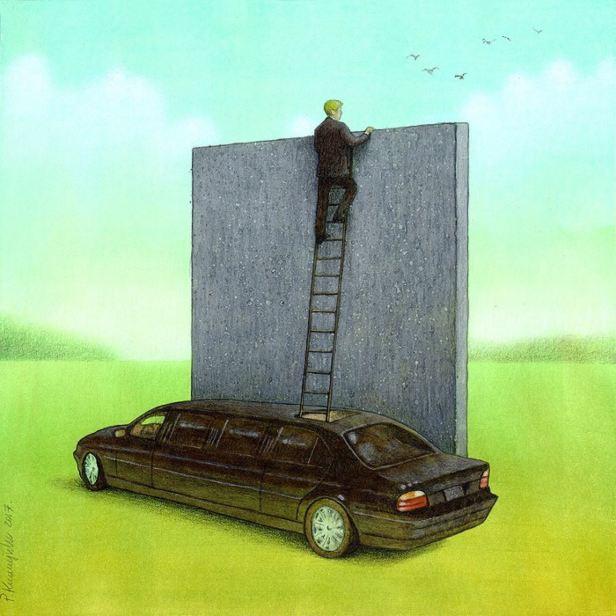 Kuczynski personal wall
