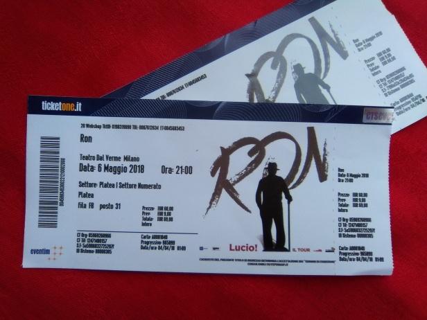 concerto Ron biglietti