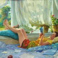 David Hettinger, quando leggere è arte