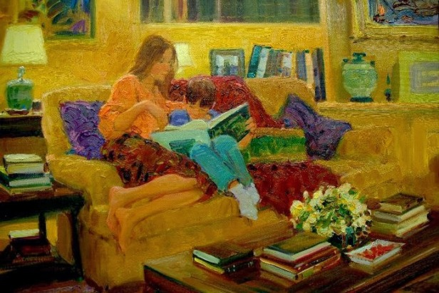 David Hettinger, reading