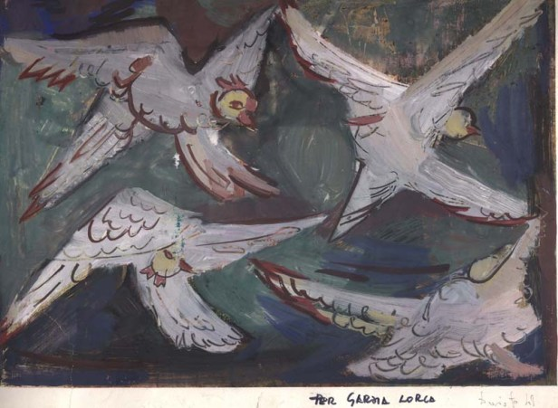 Lorca dipinto di Dario Fo