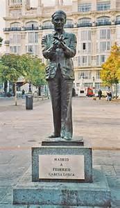 lorca statua