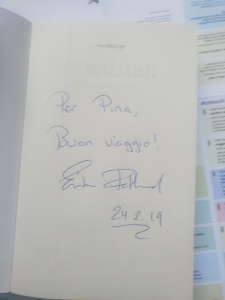 Fatland autografo