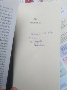 Larsson autografo