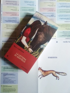 Larsson libro e locandina boreali
