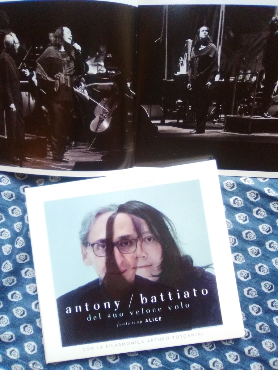 Antony e Battiato, Del suo veloce volo