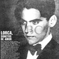 F.G. Lorca, El amor duerme en el pecho del poeta