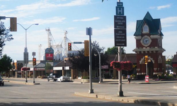 Manitoba Steinbach_Main_Street