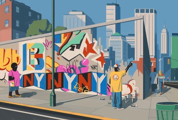 Ponzi-murale